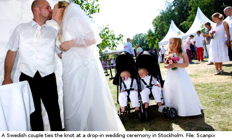 Top ten tips for planning a Swedish wedding