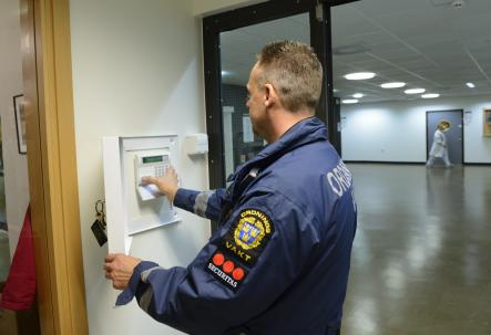 3) Security Guard<br>Want to serve and protect? Security guards (Väktare) will require recognition from their local Länsstyrelsen (county administrative board)Photo: Scanpix