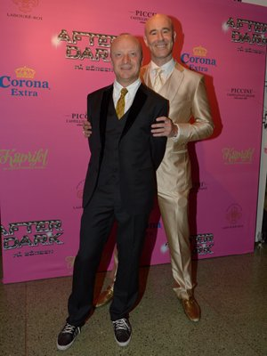 1. Jonas Gardell and Mark Levengood<br>Comedian and author Gardell (left) and TV presenter Mark Levengood the nation's most colourful and married couple.Photo: Janerik Henriksson/Scanpix