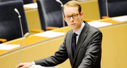 5. Tobias Billström<br>Sweden's current day migration minister makes more headlines with his controversial comments than his openly bisexual orientation. Photo: Henrik Montgomery/Scanpix