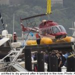 Swedes survive New York helicopter drama
