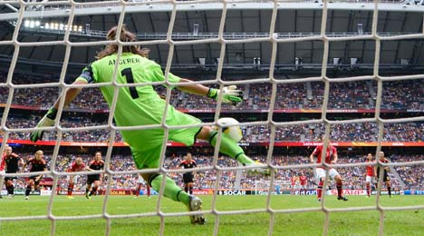 Germany snatch Euro 2013 football crown from archrival Norway
