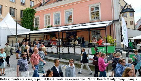 Almedalen Dispatch: staying past the canapés