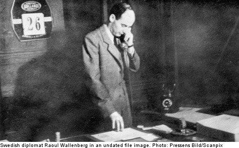 Sweden marks first-ever Raoul Wallenberg Day