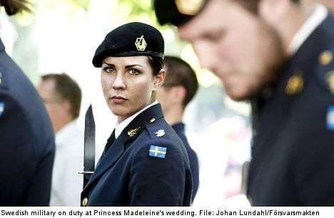 More women sign up for Sweden's military