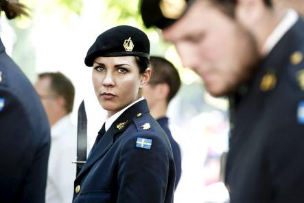Sweden's female soldiers and sailors