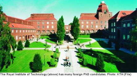 Royal Institute of Technology<br>President Barack Obama will then visit the KTH Royal Institute of Technology. The focus of the programme is Swedish innovations in the area of clean energy and environment.
