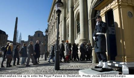 Royal Palace<br>The King and Queen will receive President Barack Obama on Thursday at the Royal Palace