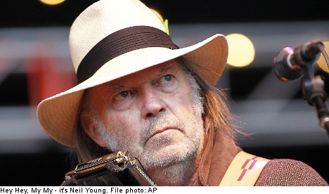 The damage done: Neil Young cans Swedish gig
