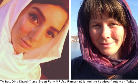 Headscarf outcry after pregnant woman beaten