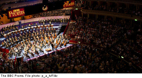 Swedes go British for BBC Proms debut