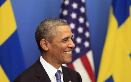 GALLERY – Top 10 moments, Obama in Sweden