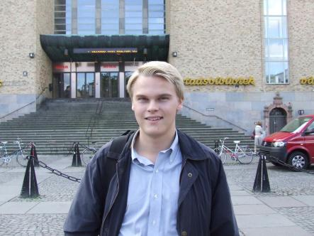 """Jakob<br>""""Privacy is very important to me,"""" says Jakob. """"I feel uncomfortable when I have to reveal my personal number (<i>personnummer</i>) for simple things but I think Swedes are conditioned to this way of thinking. I think this causes us to reflect less on privacy issues."""" Photo: The Local"""