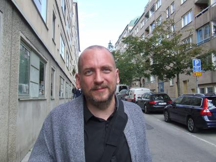 """Johan<br>""""I'm not too concerned about the Swedish government's role in aiding other countries' surveillance activities but conceptually, I can see how it might be an issue.""""Photo: The Local"""