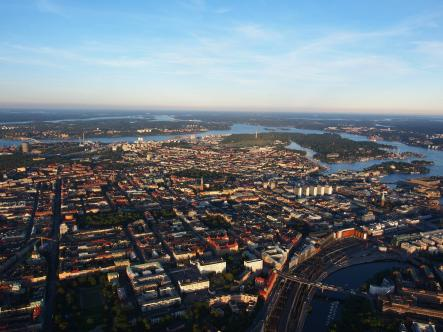And towards Östermalm and Gärdet. The Kaknästornet tower in the distant background seems like it offers no birds-eye view at all compared to the view from up here.Photo: Matt Potter