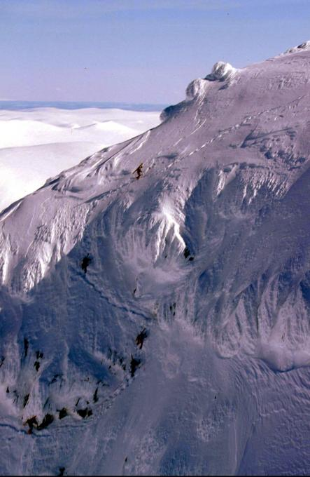 Climbers in Kebnekaise mountains, on the way up from Tarfala valleyPhoto: Patrick Tragardh/Scanpix