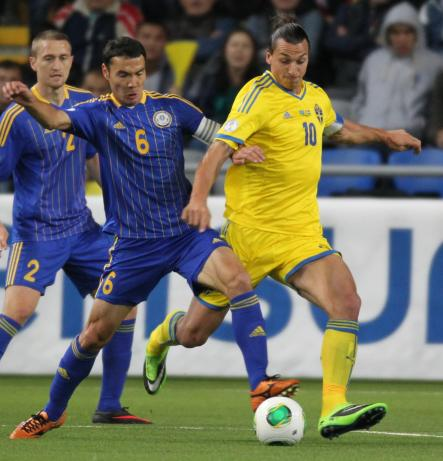 Even though Zlatan was eligible to play for Bosnia, Herzegovina and Croatia, he selected Sweden as his national side, cementing his place as one of Sweden's greatest footballers ever.Photo: AP