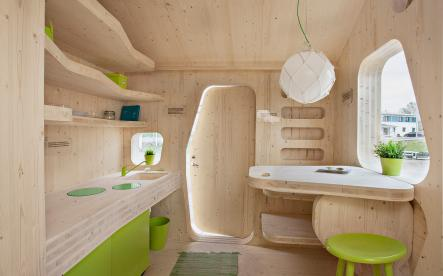 Micro huts for students
