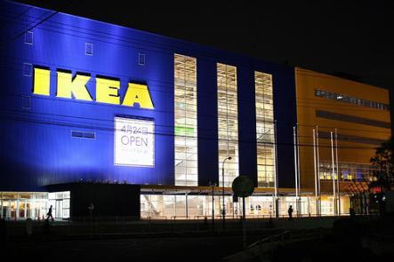 Japan Ikea<br>Here's an interesting fact, all Ikeas in Japan have the same exact footage. Impressed?Photo: Toshihiro Oimatsu/Flickr.com