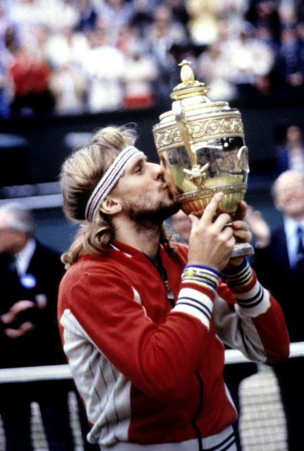 Borg's love affair with Wimbledon would continue past his 1980 victory over McEnroe. He would go on to win it five times in total.Photo: Swedish Press/Scanpix