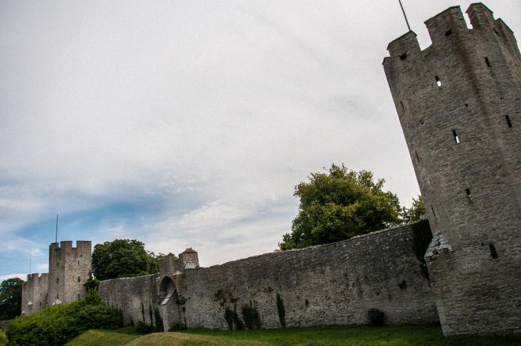 Biking around Gotland<br>A 3.4-kilometre long stone wall enclose the medieval town of Visby. It's called Ringmuren and was built in the 13th and 14th centuries.Photo: Joel Linde