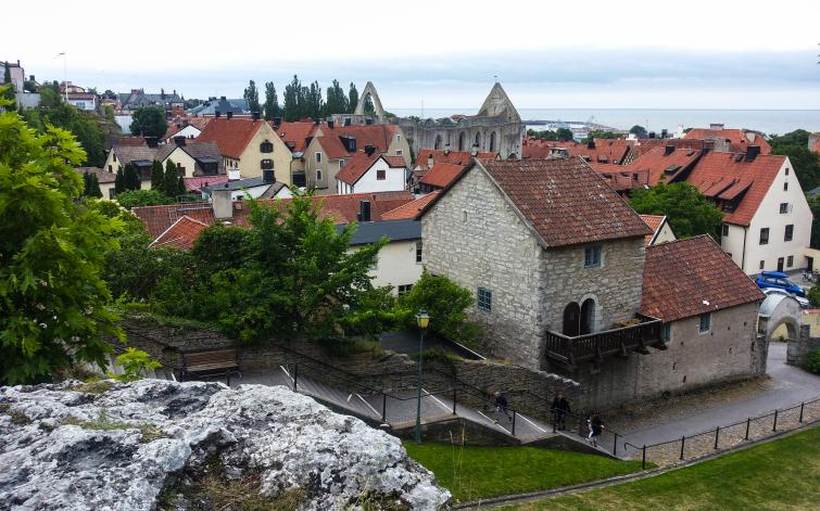 Biking around Gotland<br>Visby is the best preserved medieval city in Scandinavia and is on the Unesco list of World Heritage Sites.Photo: Joel Linde