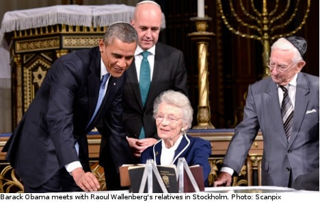 Obama to push Moscow over Wallenberg fate