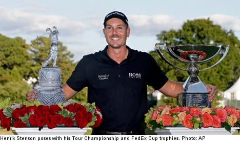 Stenson's FedEx golf win yields 'incredible' payday