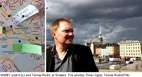 'Angry man' dreams of Stockholm's Fifth Avenue
