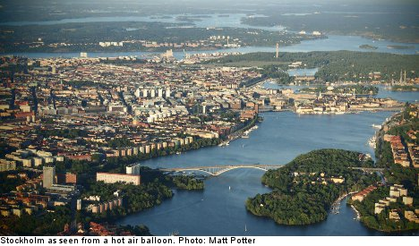PICTURES: See stunning Stockholm from the sky