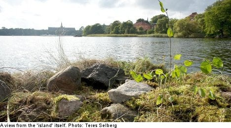 Stockholm 'island' hot property after low-end ad