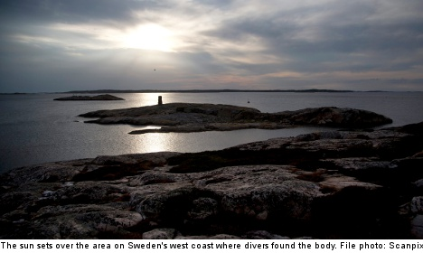 Swedish diver finds dismembered body