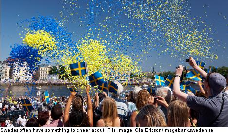 Swedes ranked fifth happiest in the world