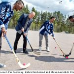 Somali-Swedes to fight Russia with clubs