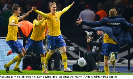 Germans 'have score to settle' with Sweden