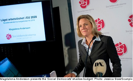 Shadow budget focuses on jobs and pensioners