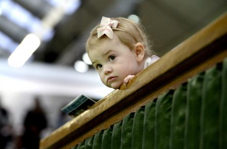 Princess Estelle at the finals of the 2013 IF Stockholm Open
