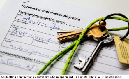 The contract<br>A contract should be written by a registered real estate agent. Swedish law is complicated, do not attempt to do this on your own.