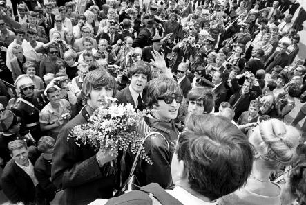 Come Together<br>The Beatles touch down at Arlanda airport near StockholmPhoto: Björn Larsson Ask/TT