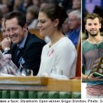 GALLERY: Dimitrov and Princess Estelle wow Stockholm Open crowd