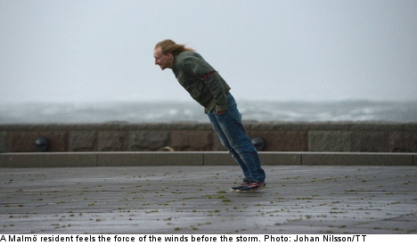 Swedes told to stay home as monster storm nears