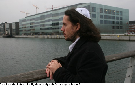 Fear and giggles: A day as a Jew in Malmö