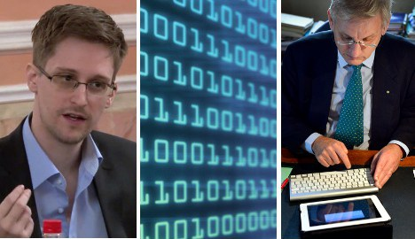 Snowden report fingers Sweden for UK spying