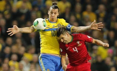 Ronaldo crushes Swedes' World Cup dreams