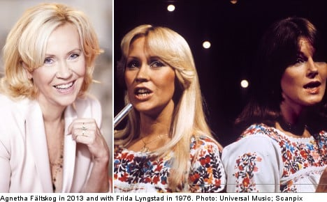 Abba star: Reunion is possible for 2014