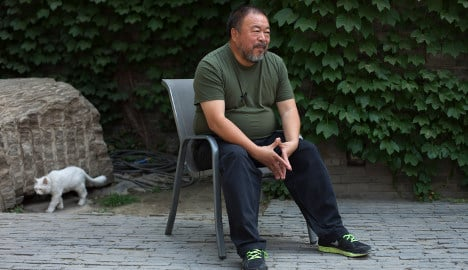 Sweden film fest keeps chair for China's Weiwei