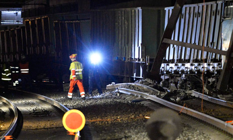 Rail workers spotted faulty track last year