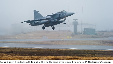 Swedish fighter jets to join Nato response force