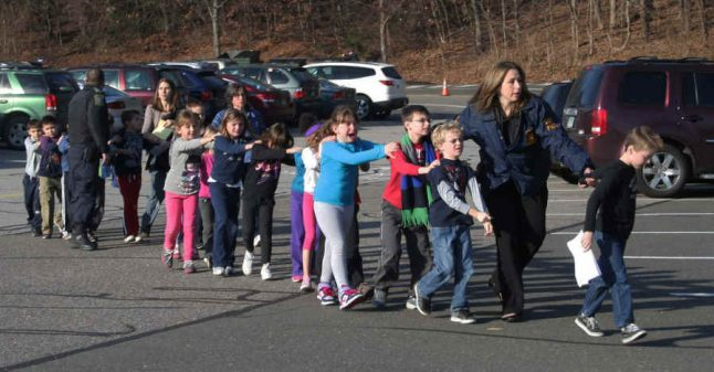 Sandy Hook pic used in 'offensive' Swedish ad