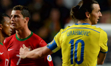 Swedes face uphill fight after Portugal loss